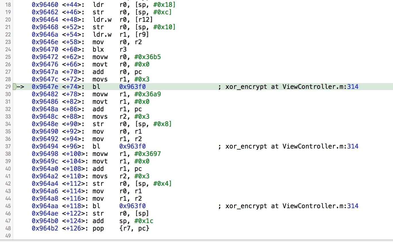 [iOS Hacker] 使用 inline 内联函数对抗逆向分析