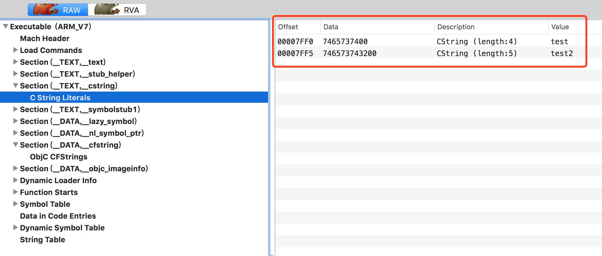 [iOS Hacker] CFStrings 的运行过程分析