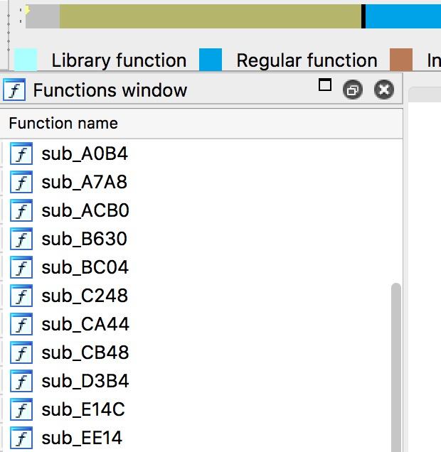 [iOS Hacker] 如何让 C 函数反编译显示 sub_xxxx