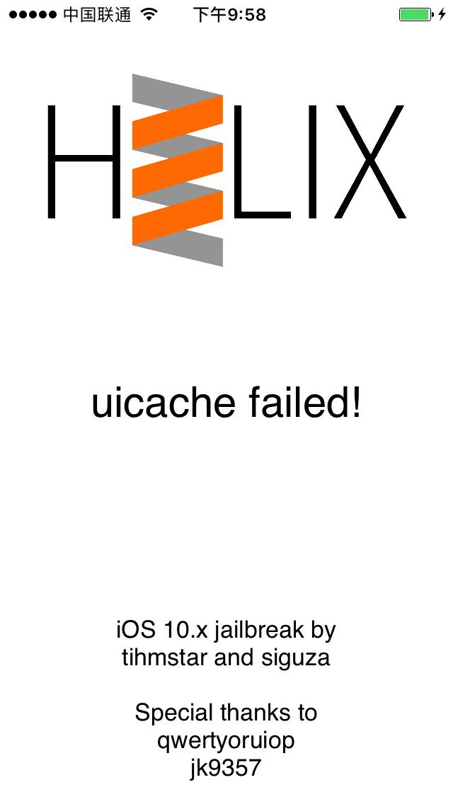[iOS Hacker] 解决 h3lix 重签名后越狱失败 uicache failed